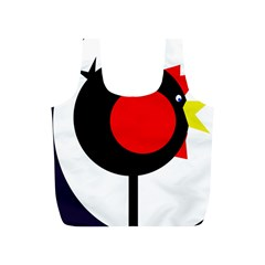 Fat chicken Full Print Recycle Bags (S)