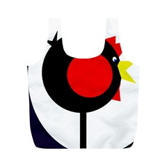 Fat chicken Full Print Recycle Bags (M)