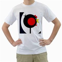 Fat chicken Men s T-Shirt (White)
