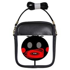 Face Girls Sling Bags