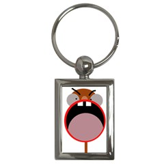 Funny face Key Chains (Rectangle)