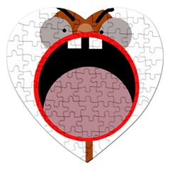 Funny face Jigsaw Puzzle (Heart)