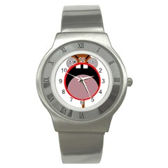Funny face Stainless Steel Watch