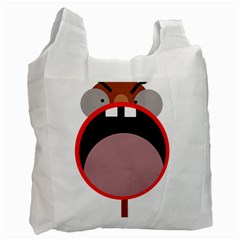 Funny face Recycle Bag (One Side)