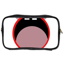 Funny face Toiletries Bags 2-Side