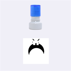 Funny face Rubber Round Stamps (Small)