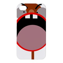 Funny face Apple iPhone 4/4S Premium Hardshell Case