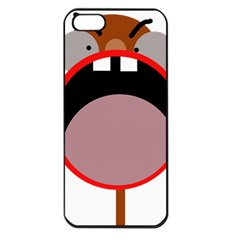 Funny face Apple iPhone 5 Seamless Case (Black)