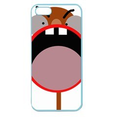 Funny face Apple Seamless iPhone 5 Case (Color)