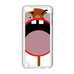 Funny face Apple iPod Touch 5 Case (White)