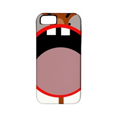 Funny face Apple iPhone 5 Classic Hardshell Case (PC+Silicone)