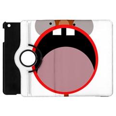 Funny face Apple iPad Mini Flip 360 Case