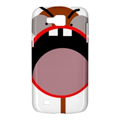 Funny face Samsung Galaxy Premier I9260 Hardshell Case