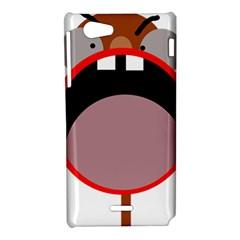 Funny face Sony Xperia J