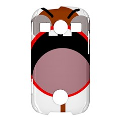 Funny face Samsung Galaxy S7710 Xcover 2 Hardshell Case