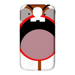 Funny face Samsung Galaxy S4 Classic Hardshell Case (PC+Silicone)