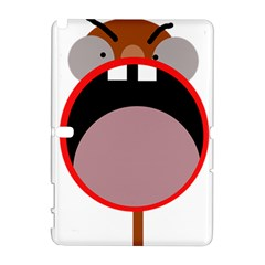 Funny face Samsung Galaxy Note 10.1 (P600) Hardshell Case