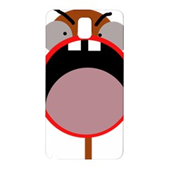 Funny face Samsung Galaxy Note 3 N9005 Hardshell Back Case
