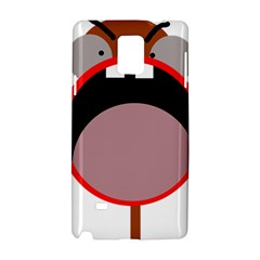 Funny face Samsung Galaxy Note 4 Hardshell Case
