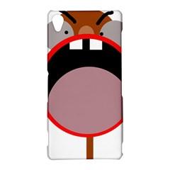 Funny face Sony Xperia Z3