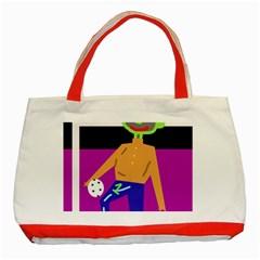 Goalkeeper Classic Tote Bag (Red)