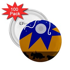 Decorative abstraction 2.25  Buttons (100 pack)