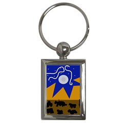 Decorative abstraction Key Chains (Rectangle)
