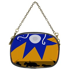 Decorative abstraction Chain Purses (Two Sides)