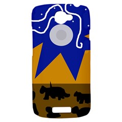Decorative abstraction HTC One S Hardshell Case