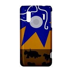 Decorative abstraction HTC Evo Design 4G/ Hero S Hardshell Case