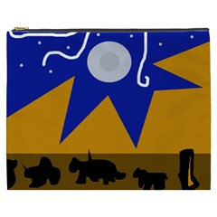 Decorative abstraction Cosmetic Bag (XXXL)