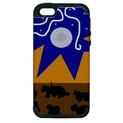 Decorative abstraction Apple iPhone 5 Hardshell Case (PC+Silicone)