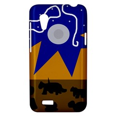 Decorative abstraction HTC Desire VT (T328T) Hardshell Case