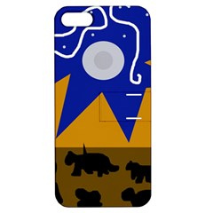 Decorative abstraction Apple iPhone 5 Hardshell Case with Stand