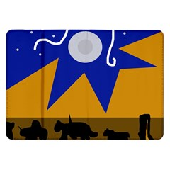 Decorative abstraction Samsung Galaxy Tab 8.9  P7300 Flip Case