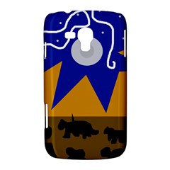Decorative abstraction Samsung Galaxy Duos I8262 Hardshell Case