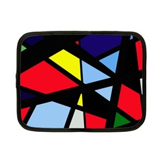 Colorful geomeric desing Netbook Case (Small)