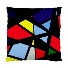 Colorful geomeric desing Standard Cushion Case (One Side)