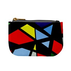 Colorful geomeric desing Mini Coin Purses