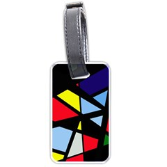 Colorful geomeric desing Luggage Tags (Two Sides)