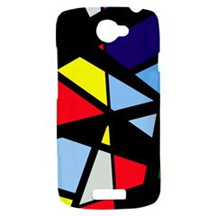 Colorful geomeric desing HTC One S Hardshell Case