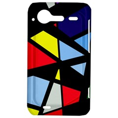 Colorful geomeric desing HTC Incredible S Hardshell Case