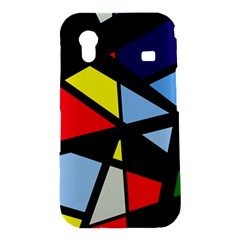 Colorful geomeric desing Samsung Galaxy Ace S5830 Hardshell Case