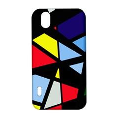 Colorful geomeric desing LG Optimus P970