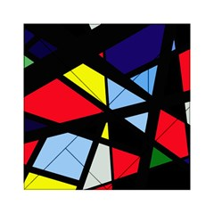 Colorful geomeric desing Acrylic Tangram Puzzle (6  x 6 )