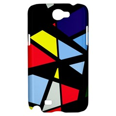 Colorful geomeric desing Samsung Galaxy Note 2 Hardshell Case