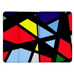 Colorful geomeric desing Kindle Fire (1st Gen) Flip Case