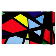 Colorful geomeric desing Apple iPad 3/4 Flip Case