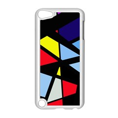 Colorful geomeric desing Apple iPod Touch 5 Case (White)
