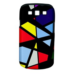 Colorful geomeric desing Samsung Galaxy S III Classic Hardshell Case (PC+Silicone)